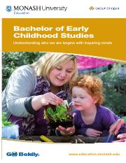 Bachelor of Education Early Childhood Studies