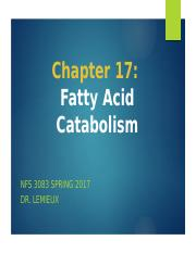 Ch 17 Fatty Acid Catabolism_student(2)