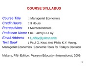 Managerial economics important for assignment