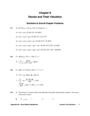 05 -- Stock Valuation