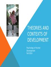 Chapter 2 Theories and Contexts of Development.pptx