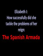 Elizabeths Problem - Spanish Armada