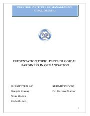 Psychological Hardiness in Hard copy.docx