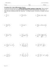 ws 04 1b basic derivative practice calculus maximus ws 4 1b deriv practice name date period. Black Bedroom Furniture Sets. Home Design Ideas