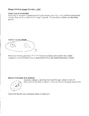 GaussLawandPotential-Worksheet
