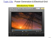 Topic 12 Power Grid