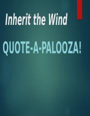Inherit the Wind Quotes.pptx