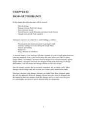 Chapter 12_Damage Tolerance