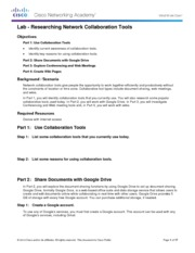 1.1.1.8 Lab - Researching Network Collaboration Tools PDF.pdf