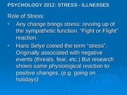 Stress Illness