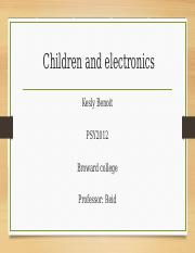 Children and electronics (1).pptx