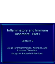 Lecture 9 Immune System-2007