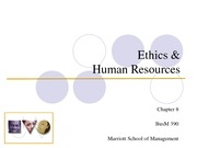 Organizational Ethics 2
