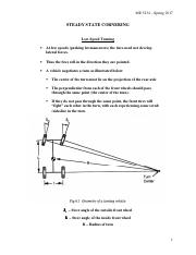 Lecture Notes - Chapter 6 - Steady State Cornering - Part 1