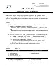 Assignment 6 - Career Plan - with template.docx