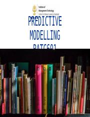 Predictive Modelling-Week-1 (1).ppt