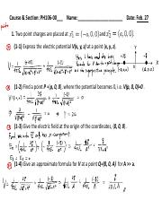 Exam1-Solutions phy106