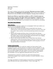 Homework Assignment 3 Worksheet