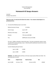 Homework _3 Answers