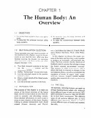 L12-CHAPTER 1 The Human Body An Overview