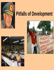 Pitfalls of Development.ppt