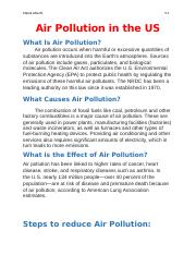 Air Pollution in the US.docx