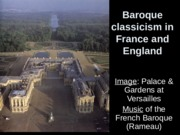 French English Baroque with rococo