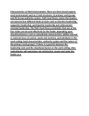 organizational theory and behaviour_1313.docx