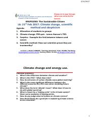 ENVR1050 06 Climate change, scientific method and scepticism 2017 POST Lecture Canvas