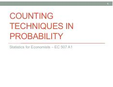 4. Counting techniques probabilities.pdf