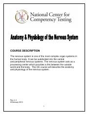 Anatomy & Physiology of the Nervous System.pdf