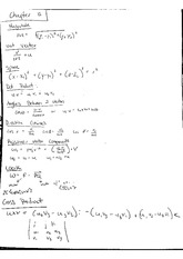 Equations Cross Product Angles Between Two Vectors Parametric Equations Lines and Planes in Space