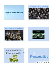 Lecture 7 Meetings, Technology and Interpersonal Communication - Handout
