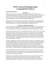NURS 5315 Congential Heart Defects Transcript