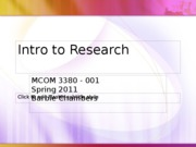 Jan 14_S_Intro to Research PPT