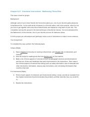 Chapter 9,17 Directives Case Study - Technical Writing - Instructions and Directives-1.docx