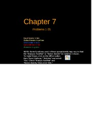Copy of FCF 9th edition Chapter 07