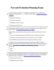 Test and Evaluation Planning Exam.pdf