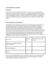 Classroom Policies and Expectations.docx