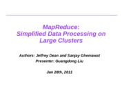 Lecture-map reduce simplified data