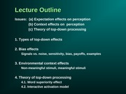 psych 240 - lecture 5
