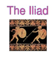 the iliad title page