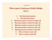 Lecture14 - Three-Span Girder-Part I