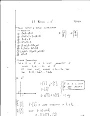math 208 vectors with Rn