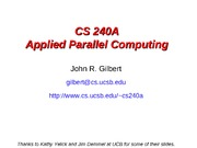 cs240a-introduction