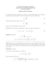 exam4 solutions