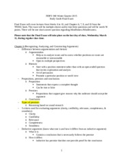 HDFS 360 Study Guide Final Exam - Winter 2015(1)