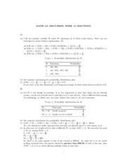 Math121 Discussion - 13th week solutions