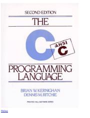 The C Programming Language by Kernighan and Ritchie