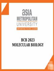 Chapter 5 Techniques of Molecular Biology.ppt